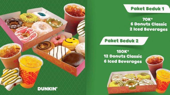 BARU! Promo Dunkin Donuts di Hari Kartini 21 April 2021, 6 Donut Classic & 2 Minuman Rp 70.000