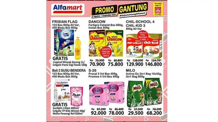 Katalog Promo Alfamart Jumat 28 Agustus 2020, Promo Beras, Minyak Goreng, Susu hingga Camilan