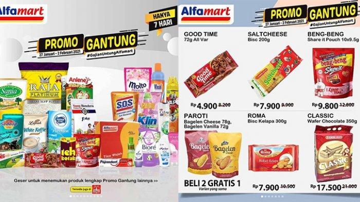 Promo Gantung Alfamart Berlangsung Selama 7 Hari, Minyak Goreng Hingga Snack Beli 2 Gratis 1