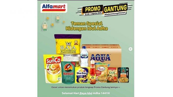 SpesialIdul Adha, Promo JSM Alfamart 31 Juli 2020, Diskon Beras, Milk Fair, hingga Aneka Camilan