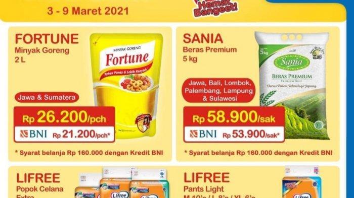 Promo Indomaret Hari Ini & Besok, Minyak Goreng 2L Rp21.200, Diskon Diapers hingga 50%
