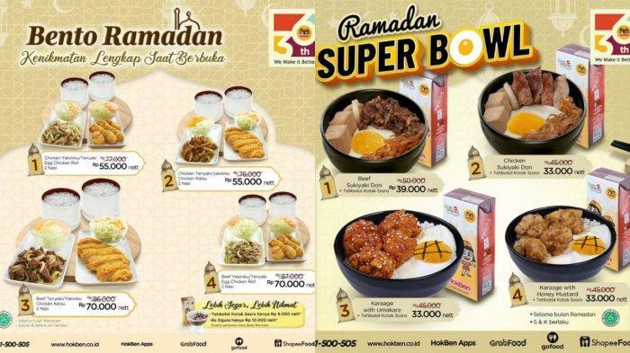 TERBARU! Promo HokBen Hari Ini 22 April 2021, Beef Sukiyaki Don dan Teh Botol Kotak Sosro Rp 39.000