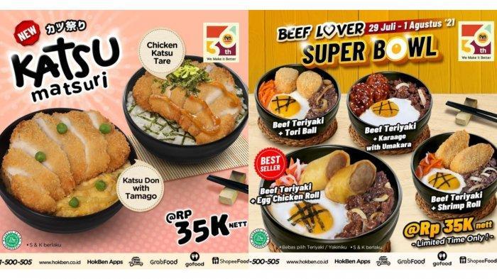 Enak dan Lezat! Promo HokBen Hari Ini 31 Juli 2021, Katsu Don with Tamago Rp 35.000 Per Porsi