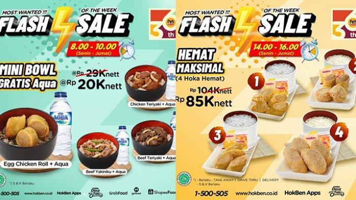Promo HokBen TERBARU 13 - 16 Juli 2021, Mini Bowl Rp20.000, 4 Hoka Hemat Rp85.000, Flash Sale!