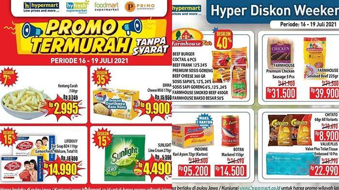 Promo Hypermart 19 Juli 2021, Kentang Rp2.995, Roti Serba Rp10.000, Smoked Beef, Sosis Diskon 40%
