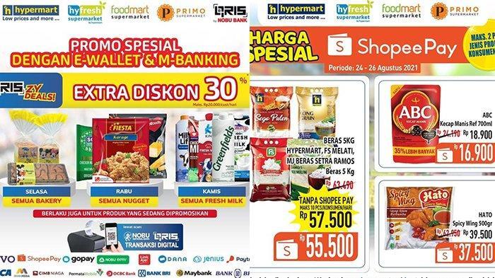Promo Hypermart 25 Agustus 2021, Nugget Diskon 30%, Beras 5Kg Rp55.500, Snack Beli 2 Lebih Hemat