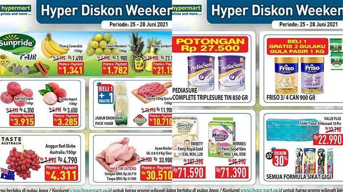 TERBARU! Promo Hypermart 28 Juni 2021, Daging Giling Spesial Rp10.710, Susu Potongan Rp27.500