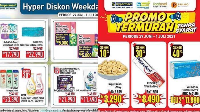 Promo Hypermart 30 Juni 2021, Beras 5Kg Rp54.900, Sunlight 755Ml Rp5.000, Nugget Rp 3 Ribuan