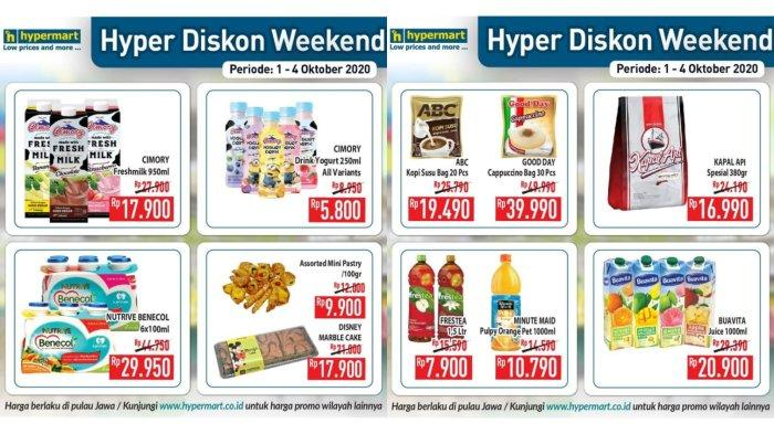 Masih Berlangsung! Promo Hypermart 4 Oktober 2021, Cimory Freshmilk Rp 17.900, Buavita Rp 20.900