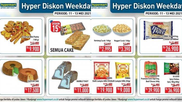 TERBARU! Promo Hypermart di Hari Raya Idul Fitri 13 Mei 2021, Assorted Mini Passtry Rp 9.900