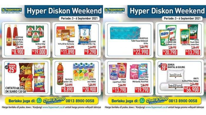 Jangan Ketinggalan Promo Hypermart Hari Ini 6 September 2021, Indofood Sambal Pedas Rp 8.900