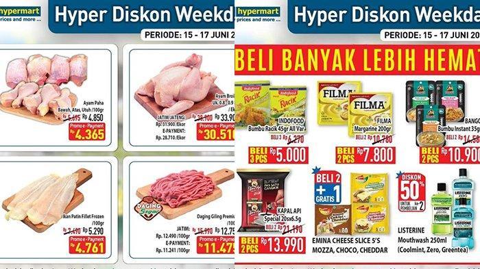 Promo Hypermart Rabu 16 Juni 2021, Ayam Broiler Rp30.510, Yogurt, Sosis Beli 1 Gratis 1, Diskon 50%