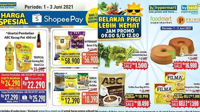 Promo Hypermart Terakhir 3 Juni 2021, Cake Rp16.900, Margarin Beli 2 Rp 7 Ribuan, Beras 5Kg Rp56.900