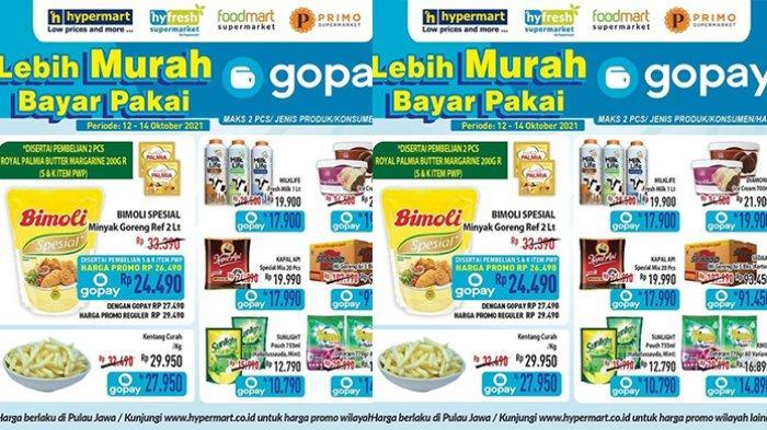Promo Hypermart TERBARU 12-14 Oktober 2021, Minyak Goreng Bimoli 2L Rp24.490, Rinso 770Ml Rp14.890