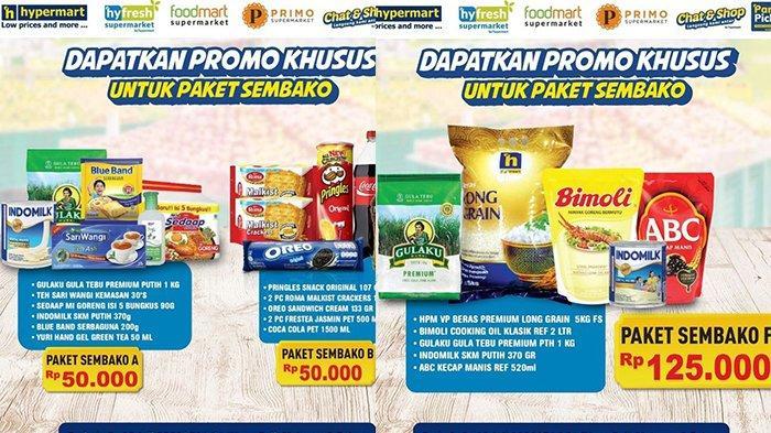 Promo Hypermart TERBARU 12 Juli 2021, Sembako Murah Rp 50 Ribuan, Minyak Goreng, Mie Instan, Beras
