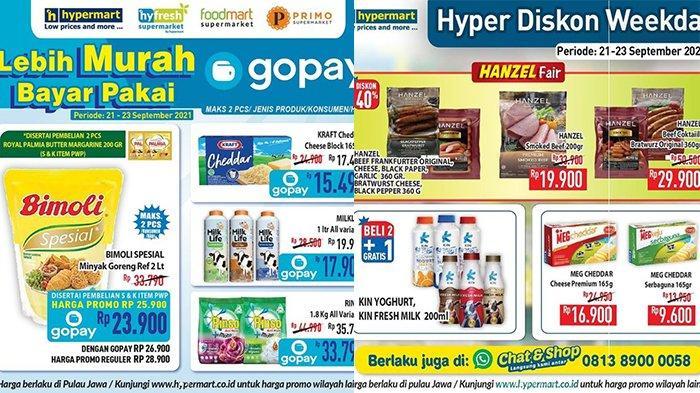Promo Hypermart TERBARU 21-23 September 2021, Minyak Goreng Bimoli Rp23.900, Beef Hanzel Diskon 40%