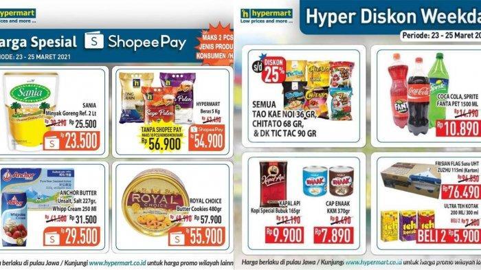 PROMO Hypermart 29 Maret 2021, Minyak Goreng 2 Liter Hanya 23 Ribuan, Beras 5 Kilogram Rp 50 Ribuan