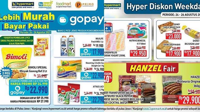 Promo Hypermart TERBARU 24-26 Agustus 2021, Minyak Goreng Bimoli 2L Rp22.900, Daging Diskon 40%