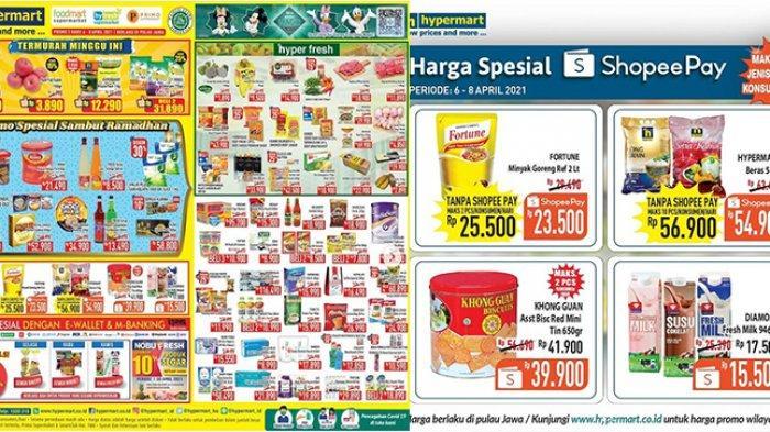 Promo Hypermart TERBARU 7-8 April 2021, Minyak Goreng 2L Rp23.500, Beli Susu Gratis Chicken Karage