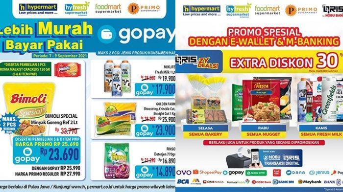 Promo Hypermart TERBARU 8 - 9 September 2021, Minyak Goreng 2L Rp23.690,Nugget, Susu Diskon 30%