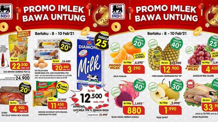Promo Imlek Superindo hari ini Selasa 9 Februari 2021, harga spesial untuk daging, susu beli 2 lebih hemat