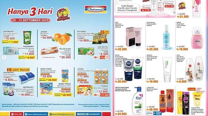 PROMO Indomaret 11-14 September 2021: Beli Shampoo Gratis Bimoli 1L, PotaBee Snack 2 Pck Rp14.900