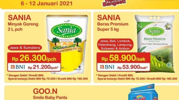 Promo Indomaret 11 Januari 2021 Diskon Susu Mi Instan Beras Minyak Goreng Diapers Turun Harga Tribun Bali