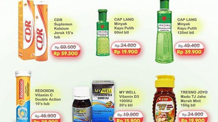 PROMO Indomaret 14 Juli 2021, Diskon Vitamin dan Minyak Kayu Putih, Produk Kecantikan Harga Hemat