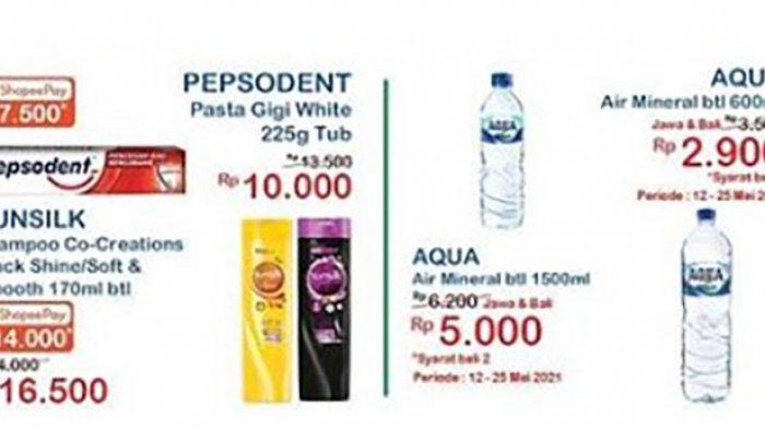 PROMO Indomaret 14 Mei 2021, Promo ShopeePay Indomaret Tisu Hanya Rp 14 Ribu, Snack Beli 2 Gratis 1