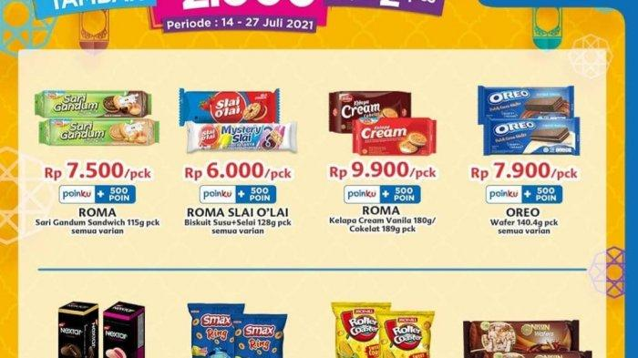 Promo Indomaret TERBARU 15 Juli 2021, Aneka Cemilan & Cokelat Rp2.000 Dapat 2, Bimoli 2kg Rp27.700