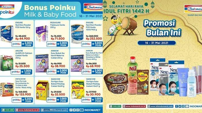 Promo Indomaret 17-31 Mei 2021, Mie Instan Gratis, Susu Tambah Rp2.000 Dapat 2, Beli 2 Gratis 1