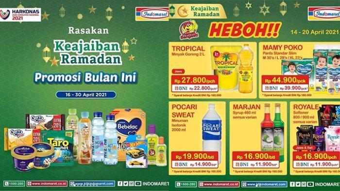Promo Indomaret 20 April 2021, Diskon Masker, Marjan Rp11 Ribuan, Minyak Goreng Tropical 2L Rp22.800