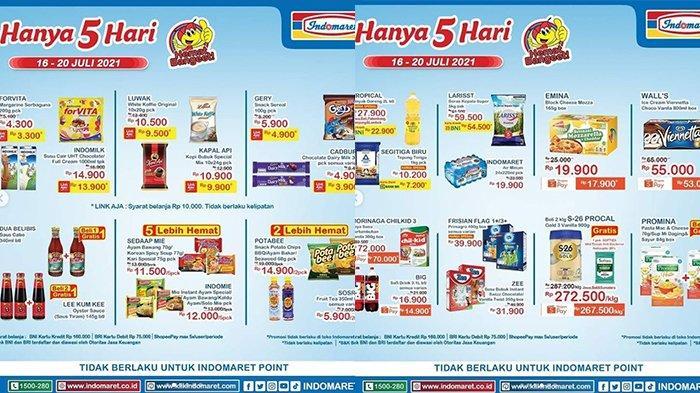 Promo Indomaret 19 Juli 2021, Minyak Goreng Murah, Kopi Beli 2 Gratis 1, Morinaga 300 Gr Rp70 Rb