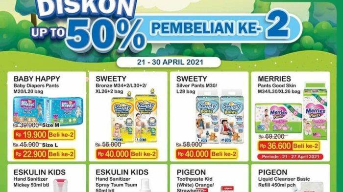 Promo Indomaret 23 April 2021, HARGA SUPER HEMAT, Diskon 50% Pembelian Ke-2, Hand Sanitizer Rp5.000.