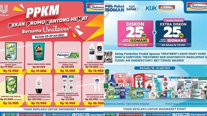 Promo Indomaret 27 Juli 2021, Sabun, Masker Esktra Diskon 25%, Cimory Rp7.900,Sunlight 1L Rp16.900