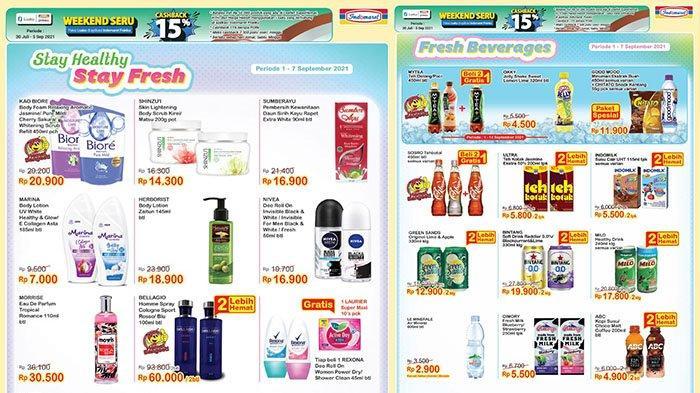 Promo Indomaret 5 September 2021, Sunlight 755Ml Rp6.900, Anlene Rp25.900, Teh Botol Beli 2 Gratis 1