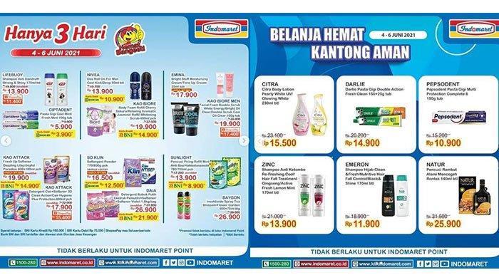 PROMO Indomaret 6 Juni 2021: Sabun Dettol Semua Varian Rp21.900, Shampoo, Beras, Minyak Turun Harga