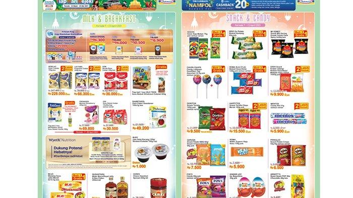 Promo Indomaret 8-15 April 2021, Snack Beli 2 Gratis 1, Mi Instan Beli 3 Lebih Hemat, Popok Rp33.500