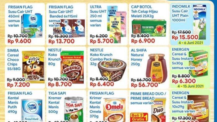 Promo Indomaret Kamis 10 Juni 2021, Sarapan Sehat, Promo Susu Dancow, Snack Beli 2 Gratis 1