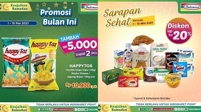 PROMO Indomaret 12 Mei 2021, Diskon Beras, Diskon Hingga 50% Beli ke-2, Produk Sponsor Clothing Fair