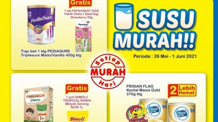 Promo Indomaret Besok 27 Mei 2021, Koko Krunch Tambah 2.000 Dapat 2, Beli Susu Gratis Minyak Goreng