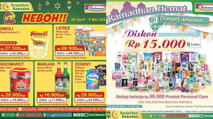 Promo Indomaret Besok 4 Mei 2021, Hari Terakhir Nikmati Belanja Minyak Goreng 2 Liter Cuma Rp22.500