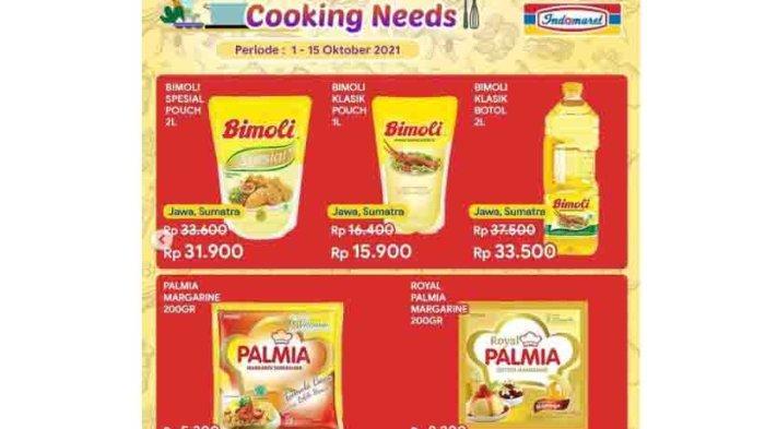 MURAH, Promo Minyak Goreng Bimoli 2L Rp 31.900 1L Rp 15.900 Hanya di Indomaret Sampai 15 Oktober