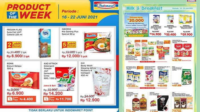 Promo Indomaret 22 Juni 2021, Promo Minyak Goreng, Mi Instan 5 Lebih Hemat, Sabun Cair Giv Rp12.900