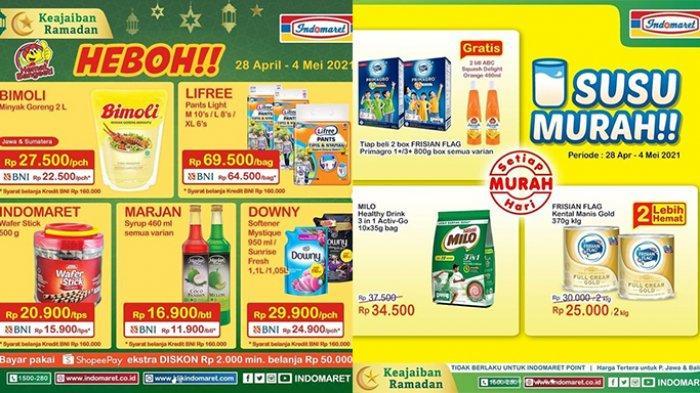 Promo Indomaret Hanya Sampai 4 Mei 2021, Diskon Minyak Goreng, Popok, Snack, Detergen, Susu Murah