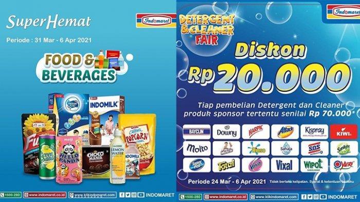 PROMO Indomaret Selasa 6 April 2021, Beragam Minyak Goreng Dan Detergen Murah