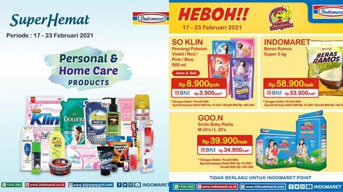 Promo Indomaret 23 Februari 2021, TINGGAL HARI INI Beras 5kg 53.900, Diskon Makanan & Kebutuhan Anak