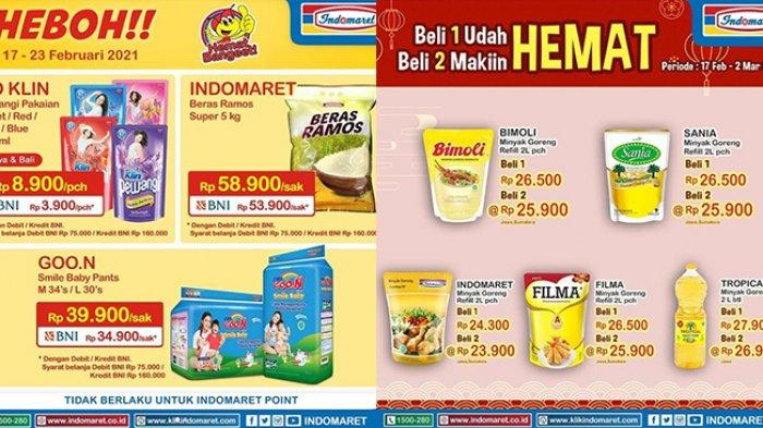 Promo Indomaret Harga Heboh Senin 22 Februari 2021, Pewangi Cuma Rp3.900, Minyak Goreng 2L Rp23.900