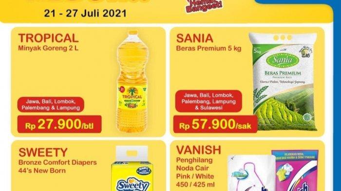 PROMO Indomaret 22-23 Juli 2021, Minyak Goreng Harga Heboh, Mi Instan & Susu Super Murah, Promo Aqua