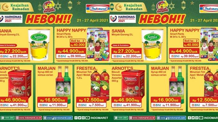Promo Indomaret 29 April 2021, HARGA HEBOH: Minyak Goreng Rp22.500, Sirup Rp11.900, Beras Rp54.900